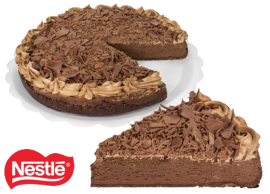 Torta de Brownie com Chocolate Grande - Unidade